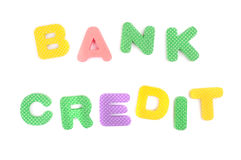 Bank and credit Royalty Free Stock Photography