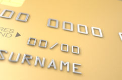 Bank Credit Card Blank Stock Photography