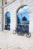 Bank in Croatia stock image