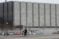 BANK DÄNEMARK-'S NANTIONAL IN KOPENHAGEN DÄNEMARK lizenzfreies stockfoto