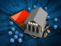 bank 3d Arkivbilder