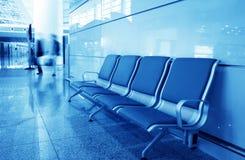 Bank in de luchthaven van Shanghai pudong Royalty-vrije Stock Afbeelding