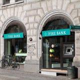 Bank in Denemarken Royalty-vrije Stock Fotografie