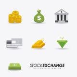 Bank design. Over white  background, vector illustration Stock Photo