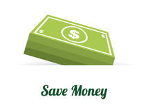 Bank design. Over  white background, vector illustration Royalty Free Stock Photo