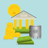 Bank design Royalty Free Stock Images