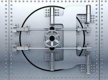 Bank door Stock Photo