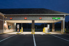 Bank Drive Thru Royalty Free Stock Image