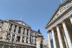 Bank of England. Stock Photos