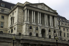 Bank of England. The Bank of England building in the City of London Royalty Free Stock Photos
