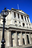 Bank Of England. The Bank of England fondly known as 'The Old Lady Of Threadneadle Street in the heart of the City of London, England, UK. The bank is where Stock Image
