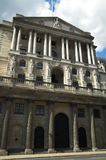 Bank Of England. The Bank Of England fondly known as 'The Old Lady Of Threadneadle Street' is where Britains gold reserves are kept and is responsible for Stock Photos