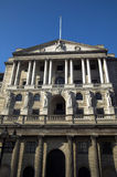 Bank Of England. The Bank Of England fondly known as 'The Old Lady Of Threadneadle Street' is where Britains gold reserves are kept and is responsible for Stock Images