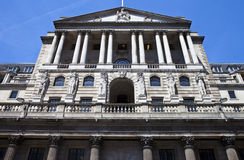 Bank of England in the City of London Stock Image