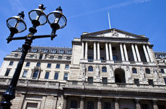 Bank of England in the City of London Royalty Free Stock Images