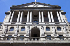 Bank of England in the City of London Royalty Free Stock Image