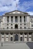 Bank of England closed doors to main entrance Stock Image