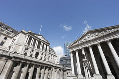 Bank of England. Famous London sight Royalty Free Stock Image