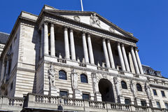 Bank of England i London Arkivfoton