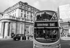 Bank of England i staden av London - LONDON - STORBRITANNIEN - SEPTEMBER 19, 2016 Royaltyfria Foton