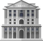 Bank of England London. Vector Isolated Illustration Stock Photography