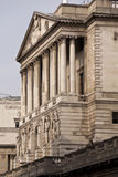 The Bank of England, London UK. The Bank of England building, London, England, UK Stock Photo