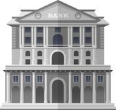 Bank of England London. Vector  Illustration Stock Images