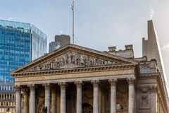 Bank of England in the morning Stock Photo