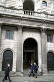 Bank of England reißen hin Lizenzfreie Stockfotos