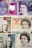 Bank of England and Scottish money Royalty Free Stock Image