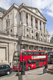 Bank of England. Square and underground station Royalty Free Stock Image