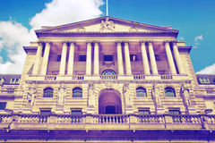 Bank of England. Square and underground station Royalty Free Stock Photos