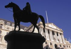 Bank of England Threadneedle Street City of london England Stock Image