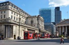 Bank of Englandcentralbanken förlägger högkvarter England UK Royaltyfri Foto
