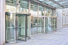 Automatic bank entrance Stock Image