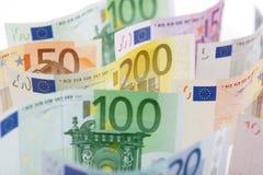 bank euro notes Στοκ φωτογραφία με δικαίωμα ελεύθερης χρήσης