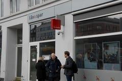 BANK FÖR LAAN &SPAR Arkivfoton
