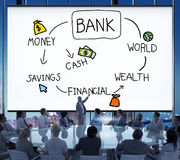 Bank Financial Investment Savings Money Concept Royalty Free Stock Photo