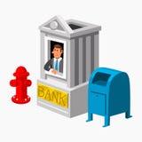 Bank-Finanzierung Lizenzfreies Stockfoto