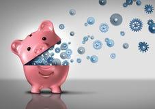 Bank-Geschäfts-Konzept Lizenzfreies Stockbild