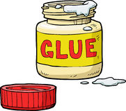 Bank of glue Stock Photography
