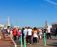 Bank holiday in Brighton Royalty Free Stock Photos