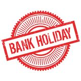 Bank holiday stamp Royalty Free Stock Photography