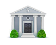 Bank icon Royalty Free Stock Photography