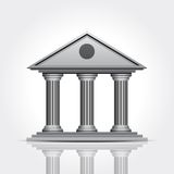 Bank icon Stock Images