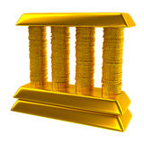 Bank icon Stock Photography
