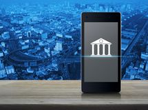 Mobile banking concept Royalty Free Stock Image