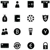 Bank icon set. The bank of icon set Stock Image