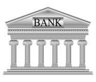 Bank icon Royalty Free Stock Photos