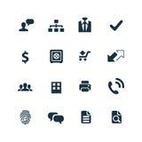 Bank ikony ustawiać Obrazy Stock